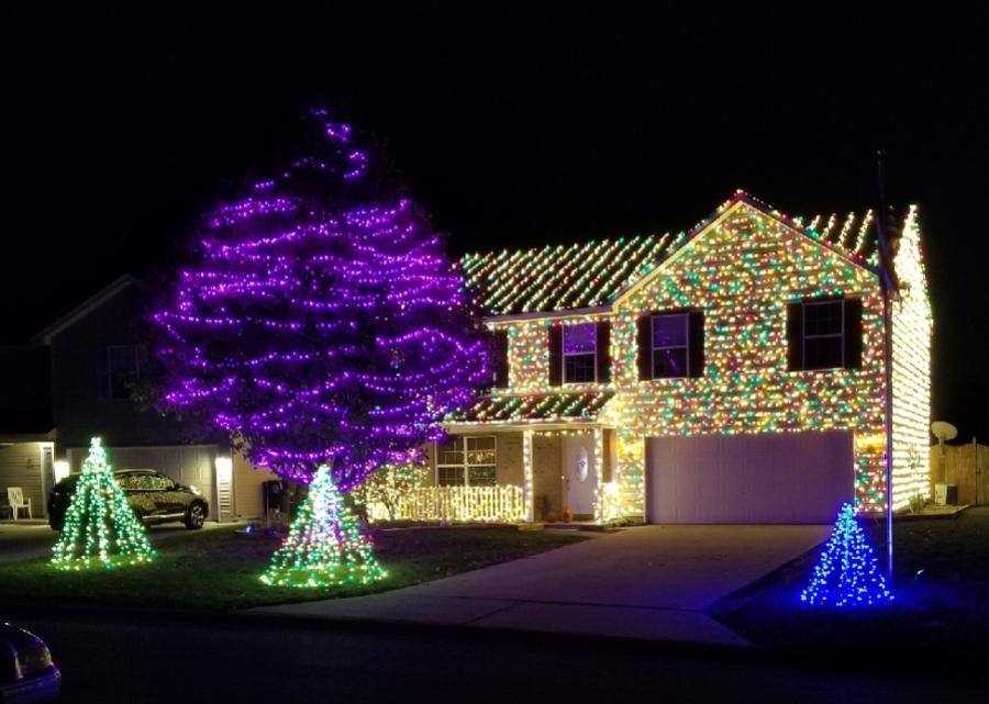 9314 Monique Drive - Best Christmas Lights Displays in Fort Wayne - EAST