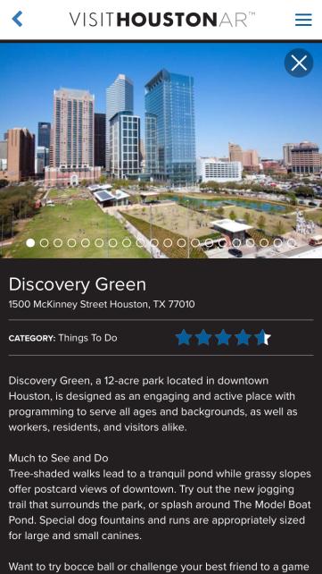 Info View Visit Houston AR