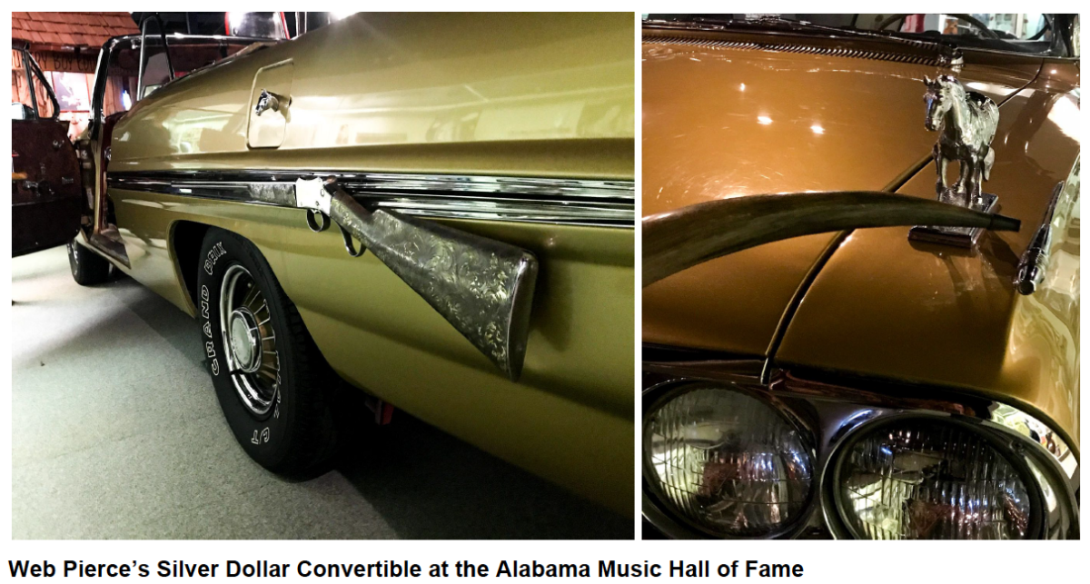 ala music hall of fame car