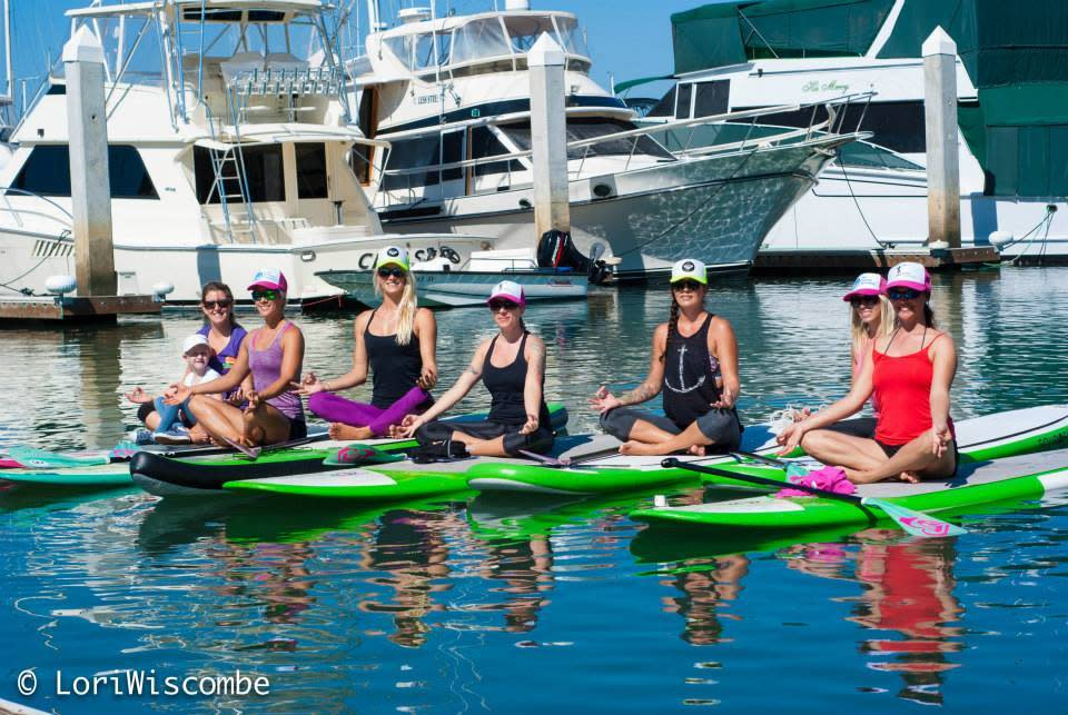 Leave the Studio Behind - SUP Yoga