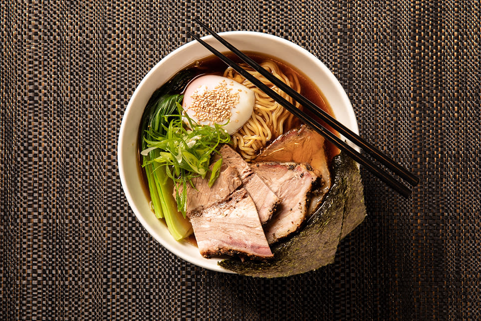 Grand Hyatt Melbourne winter pop-up Texakaya  - Texas Brisket Ramen