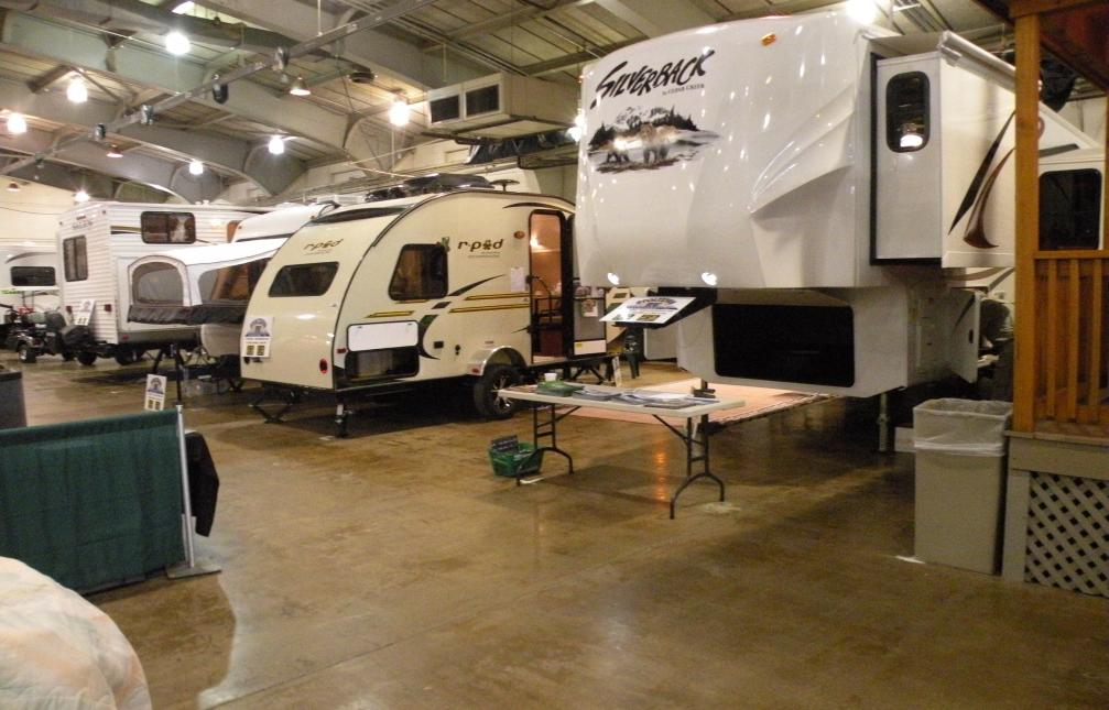 York RV Show Camper