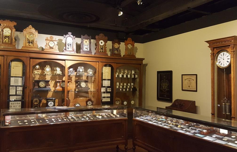 Watch & clock display