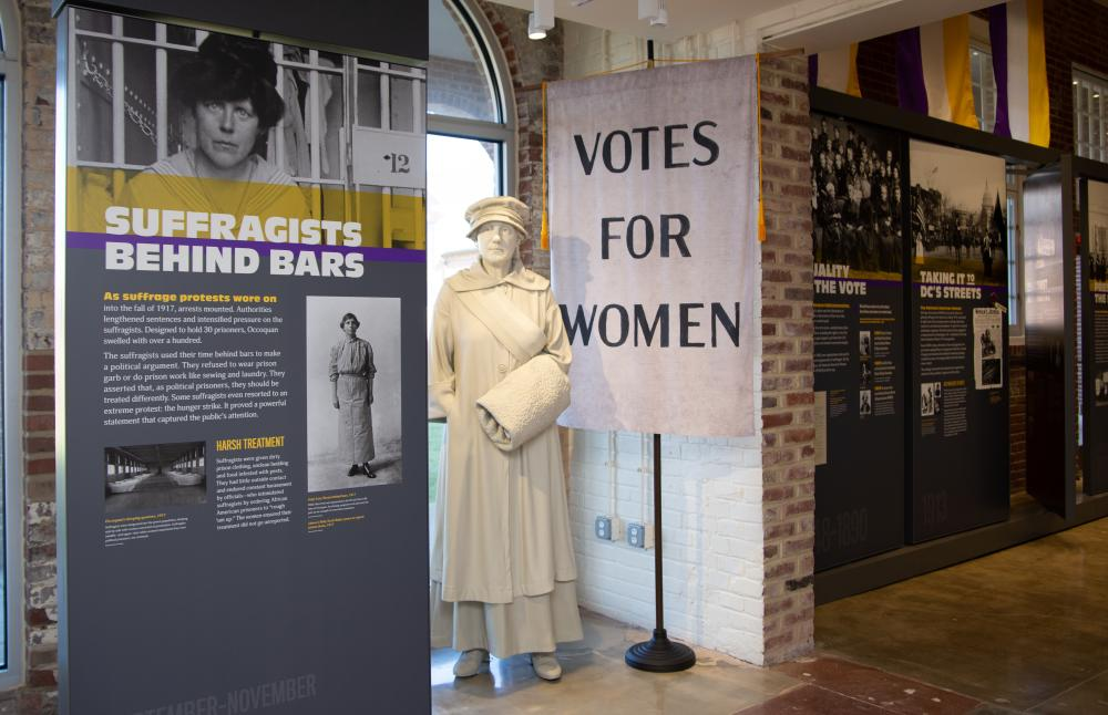 The Lucy Burns Museum at the Workhouse Arts Center