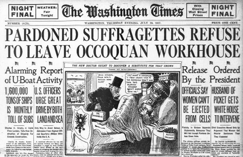 Suffragist News Column