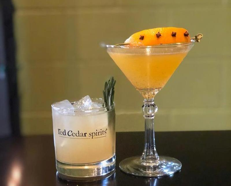 Red Cedar Cocktails