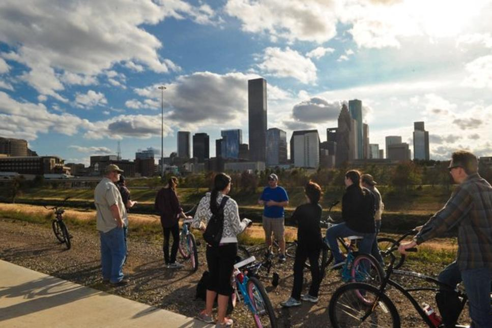 bayou city bike tour