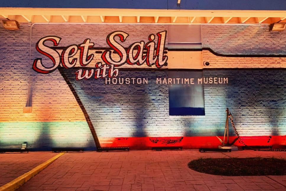 Houston Maritime Museum Exterior Shot