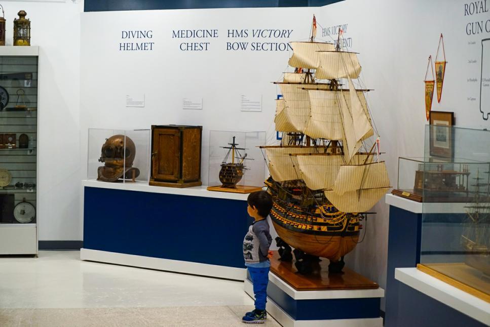 Houston Maritime Museum - Boat