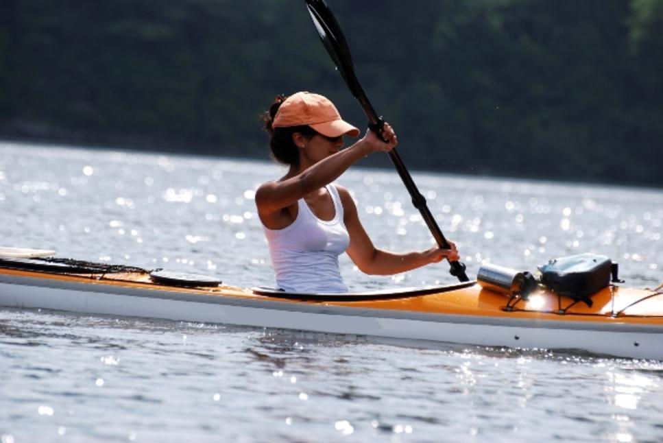 kayaker 288 lake