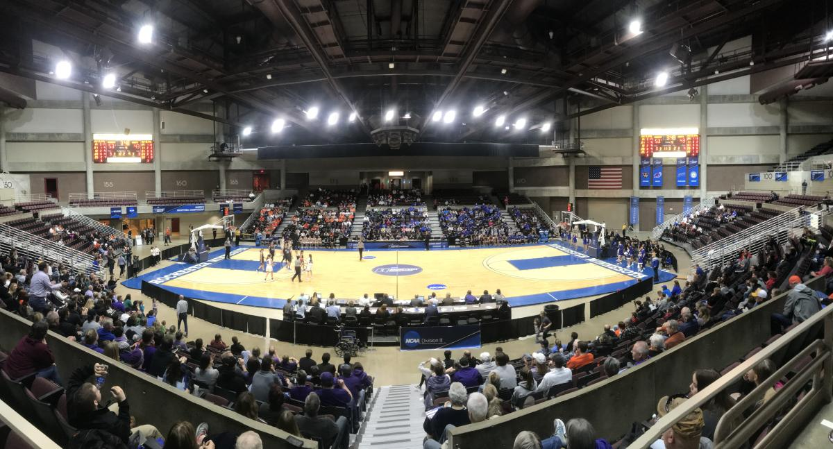Women's College Basketball at Mayo Civic Center Taylor Arena