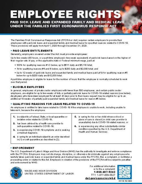 FFCRA Employee Rights