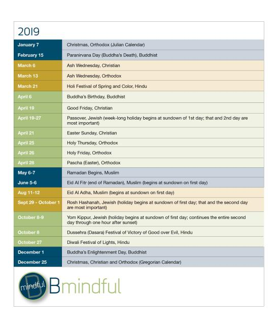 BMindful 2019