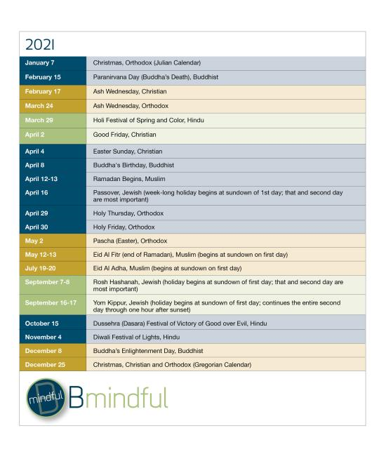 BMindful 2021