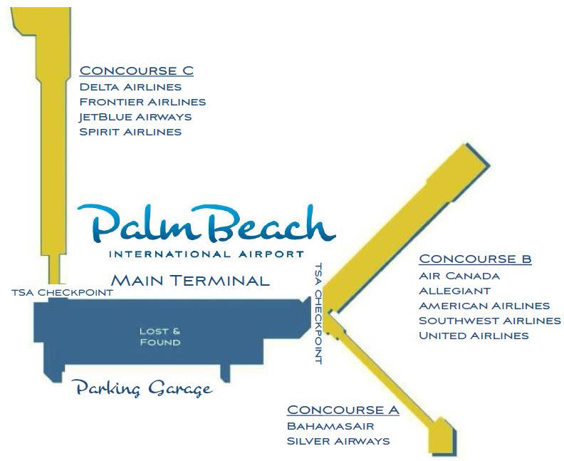 Concourse Map