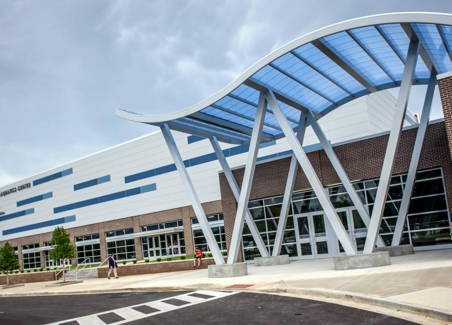 Huntsville Aquatics Center Building