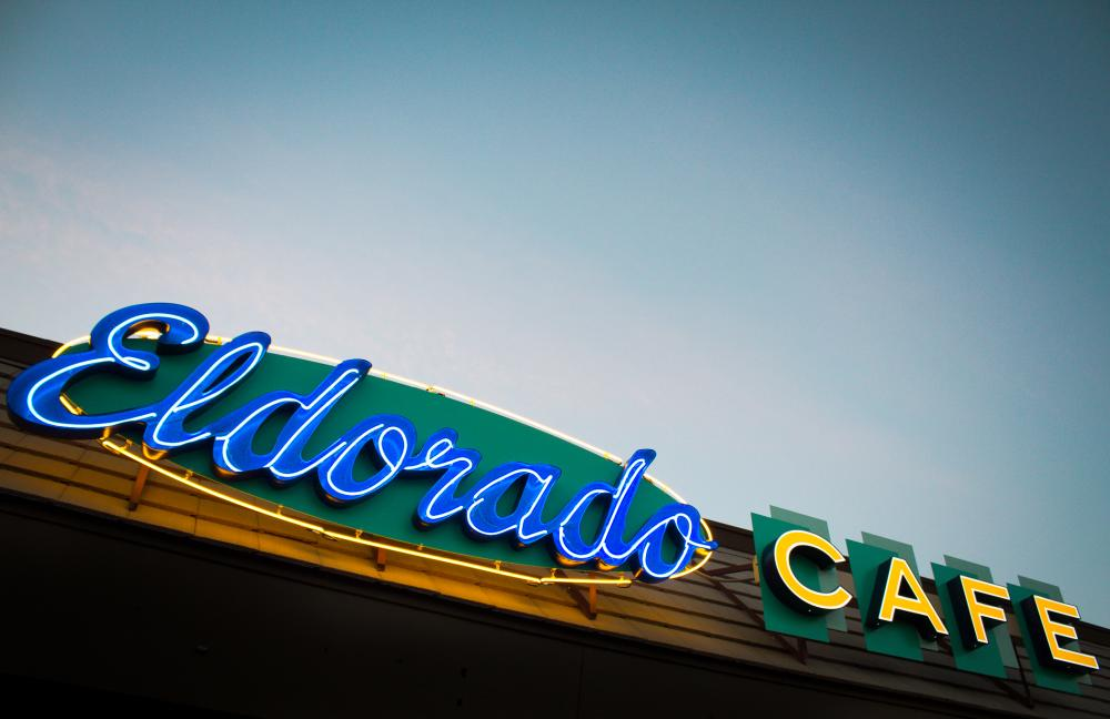 Eldorado Cafe neon sign in austin texas