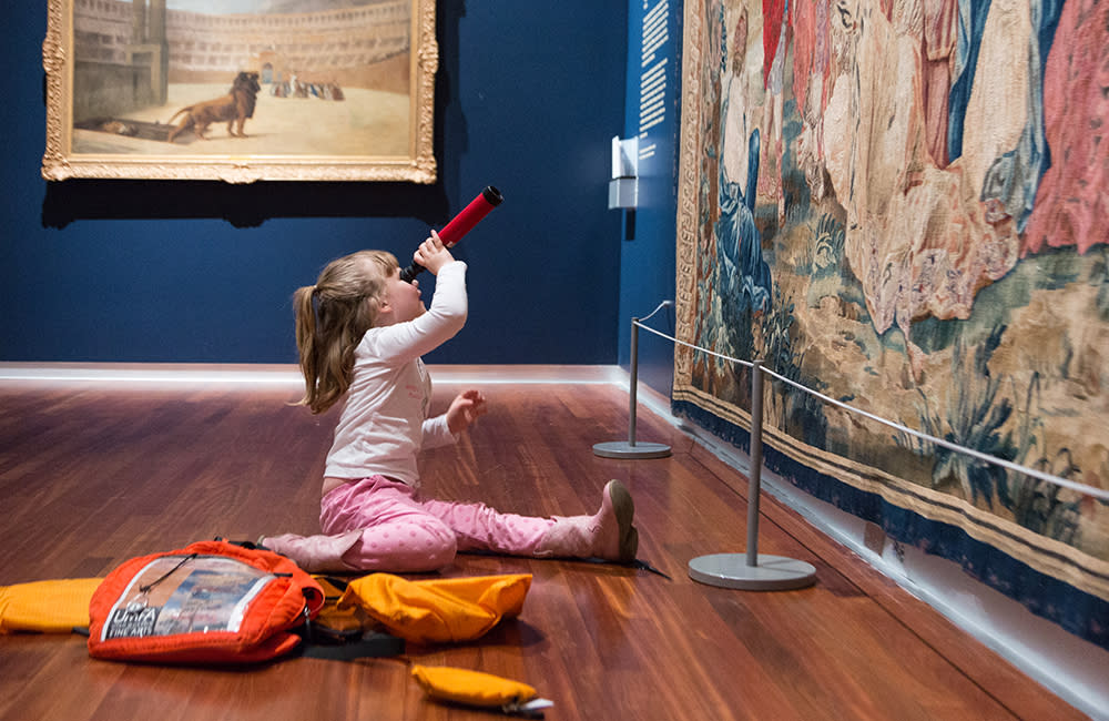 Family Backpacks at Utah Museum of Fine Arts