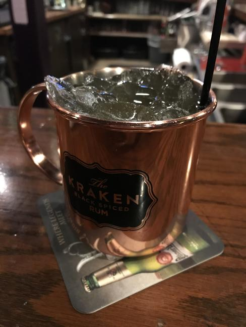 Moscow Mule at Houligans in Eau Claire