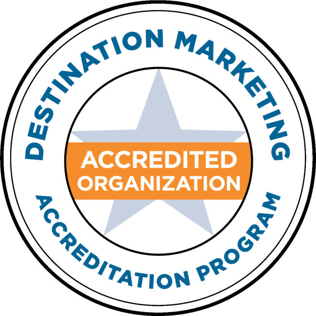 DMAP Destination Marketing Accreditation Program Logo