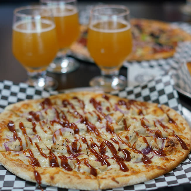 Garage Brew Co Pizza