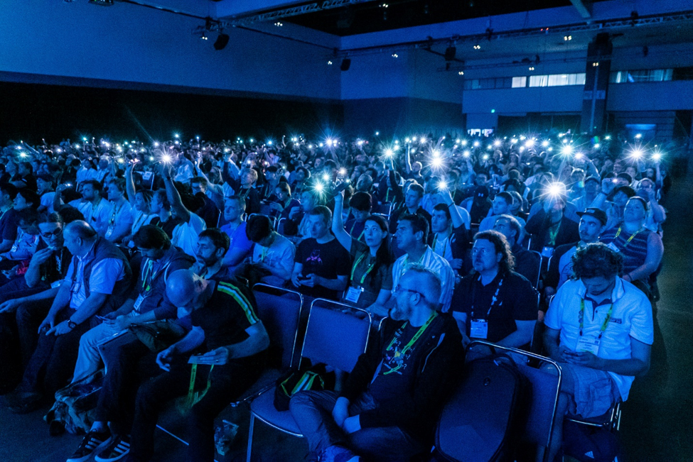 Audience interaction at SIGGRAPH 2019 (Flickr/SIGGRAPHconferences)