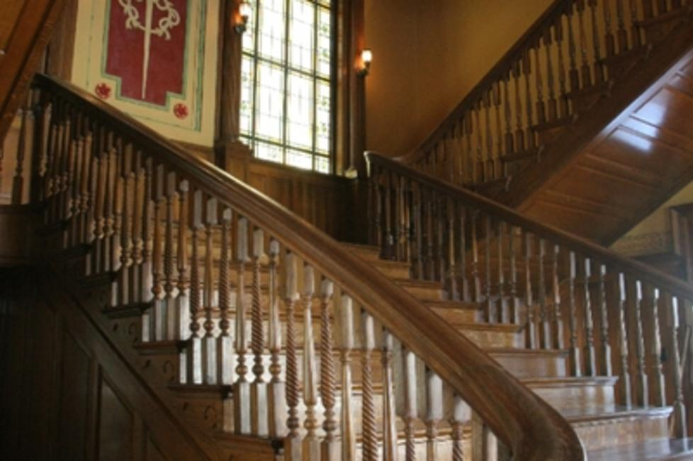 Grand Staircase at Thistle Hill