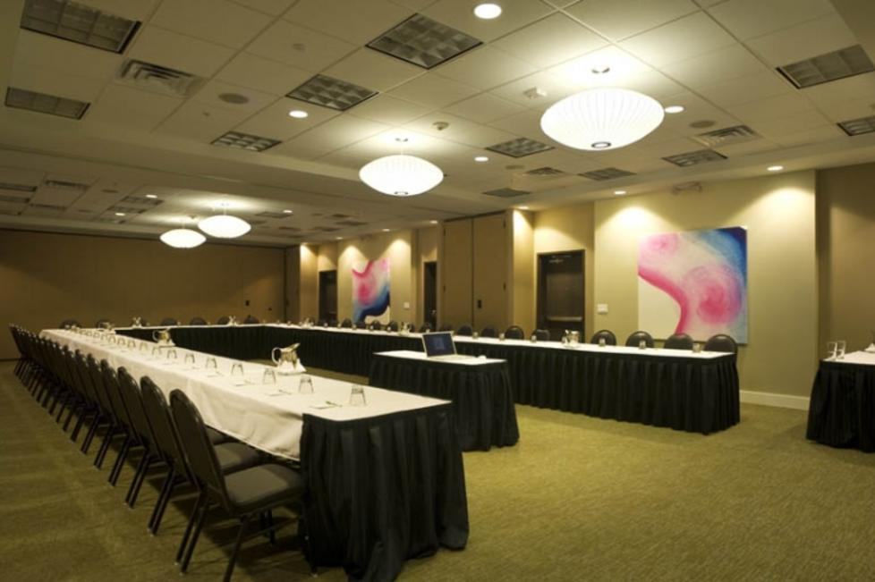CentrePort Ballroom Set U-Shape for a Meeting