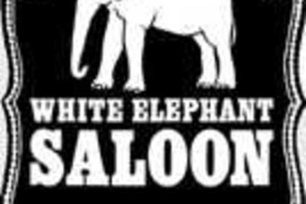 White Elephant Saloon Logo