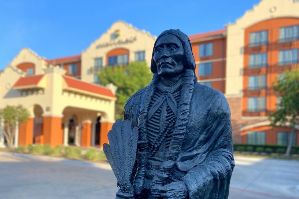 Quanah Parker Statue