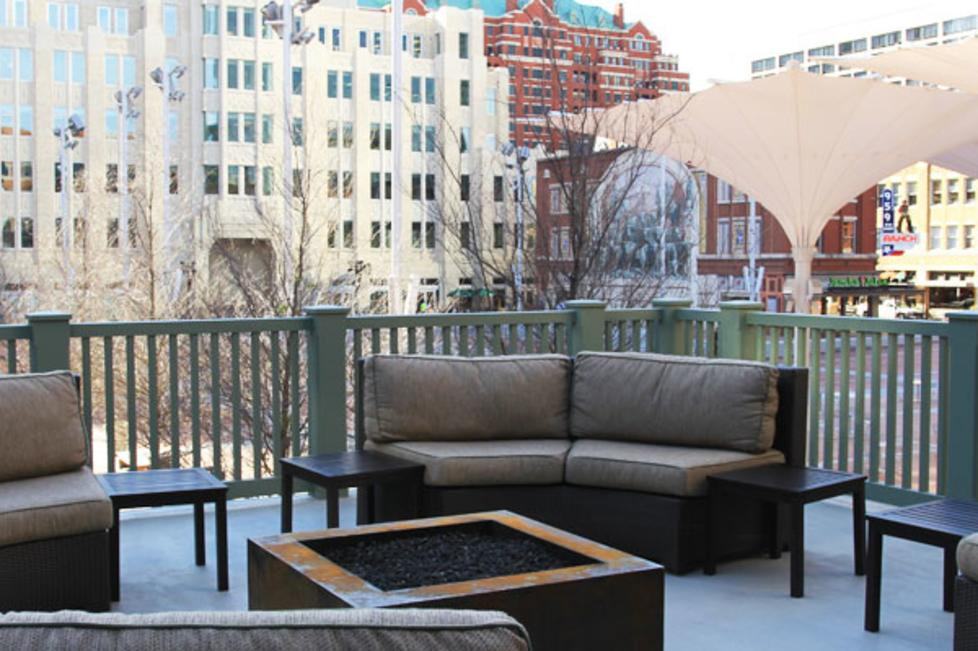 The Fire Pit (overlooks Sundance Square, can be reserved with or without Rookery)