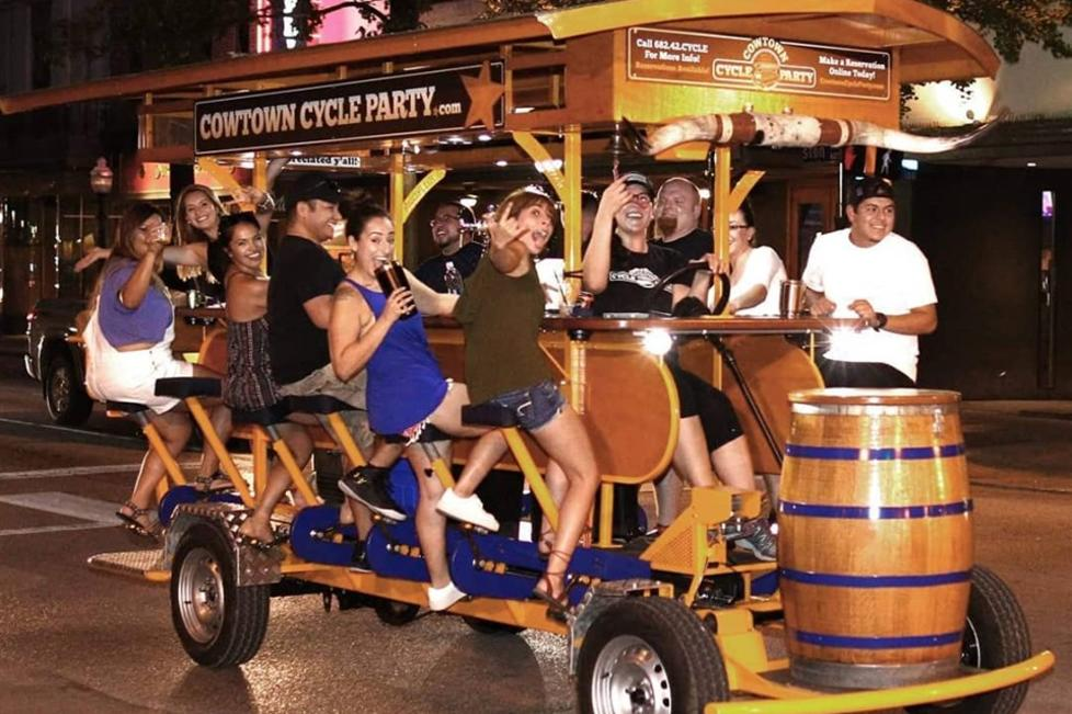 Cowtown Cycle Party