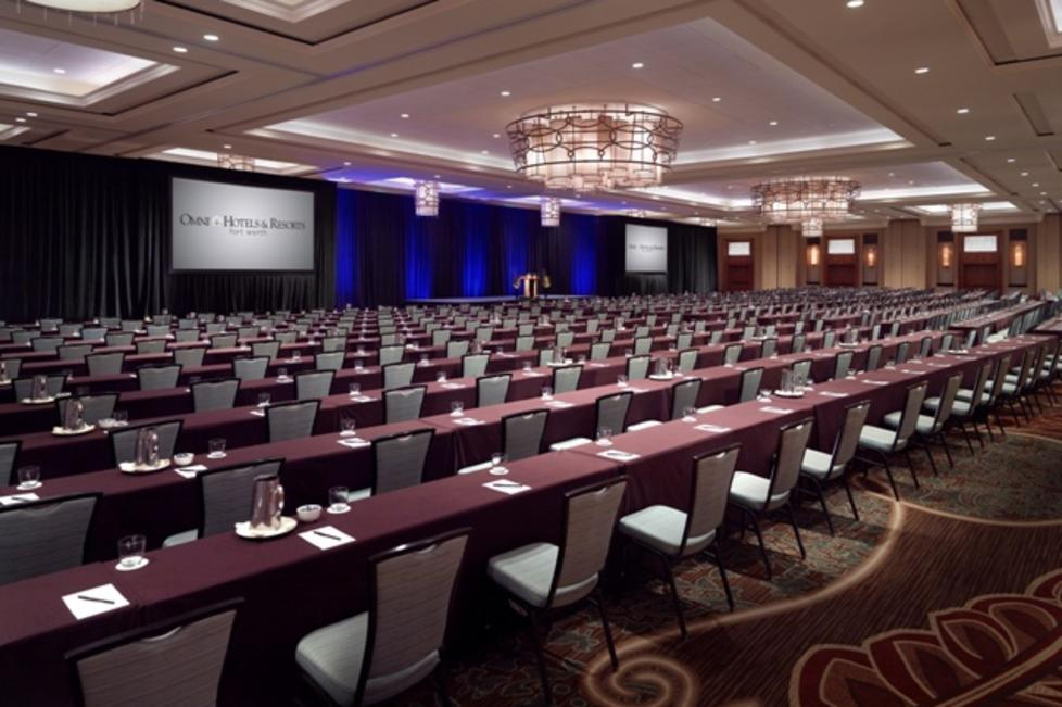 Texas Ballroom Classroom set up