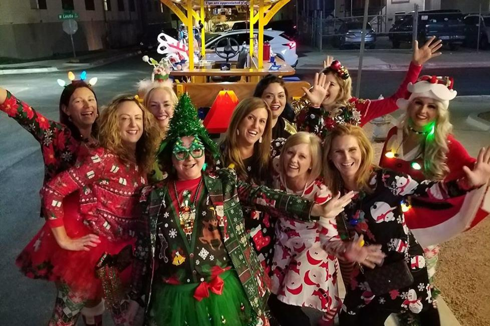 Holiday Cycle Parties are the BEST!