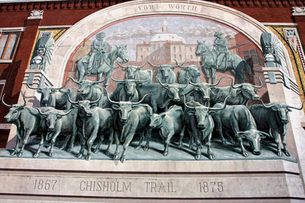 chisholm trail mural