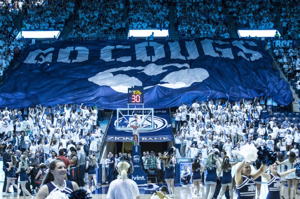 BYU Basketball Flag