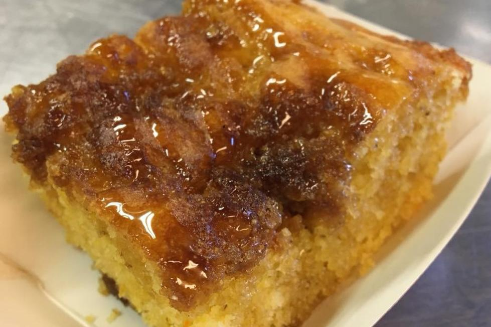 The Smoking Apple Cornbread