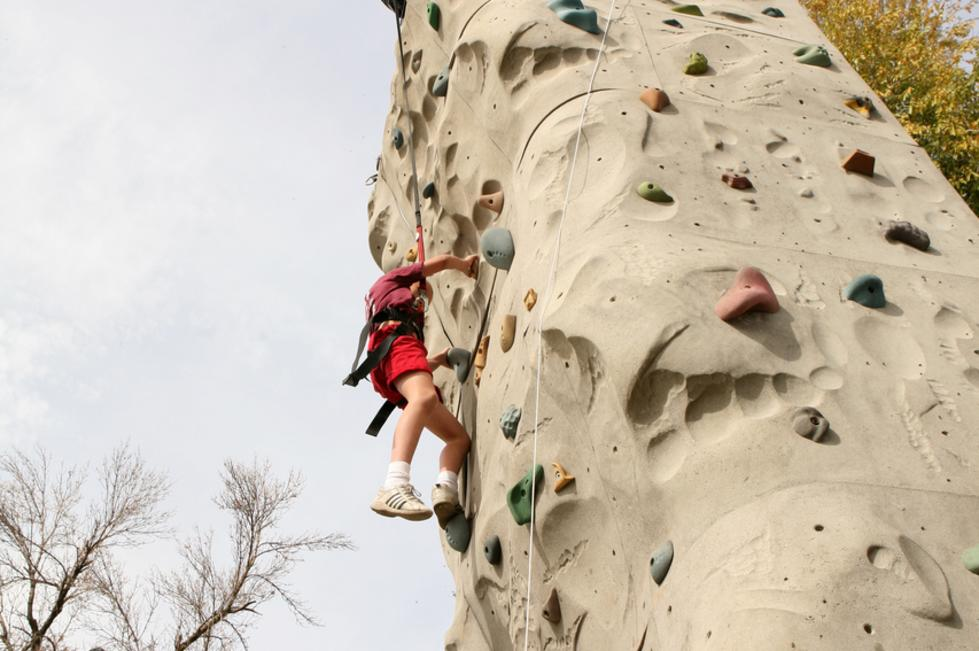CLAS Ropes Course - Rock Wall