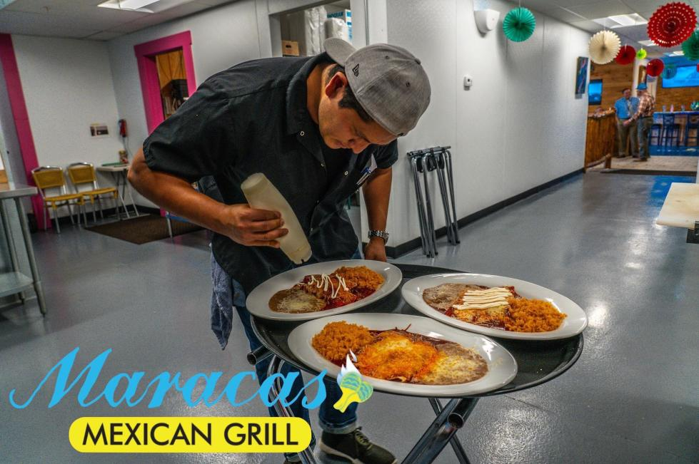 Maracas Mexican Grill Plating