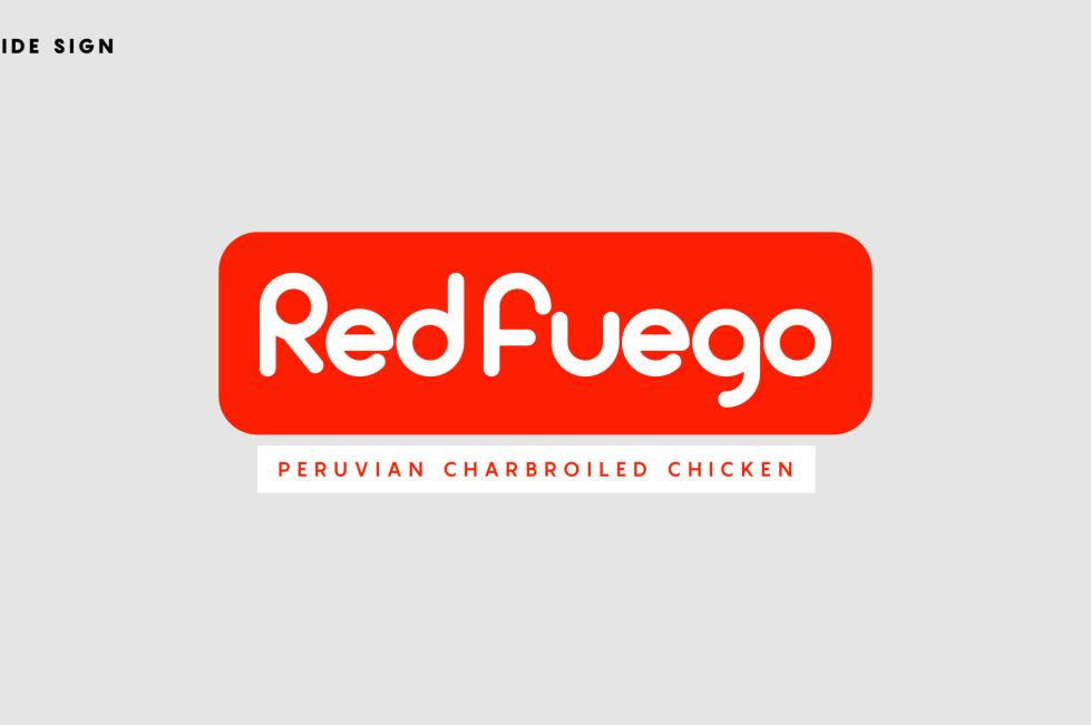 Red Fuego Sign/Logo