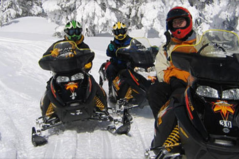 Snowmobiling at the Mt. Nebo Snowmobile Complex
