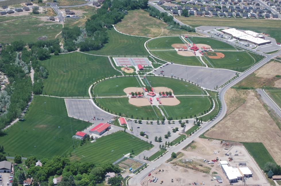 Spanish Fork Sports Park Aerial