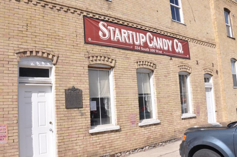 Startup's Candy Company Exterior