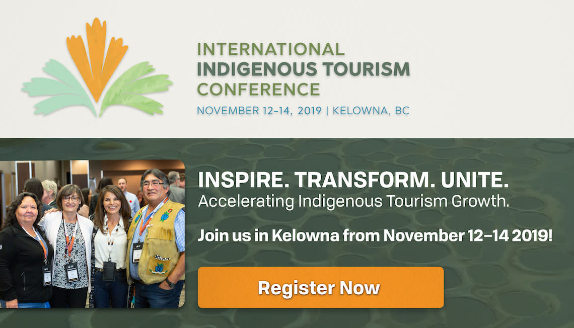 Promo Ad for the International Indigenous Tourism Conference 2019