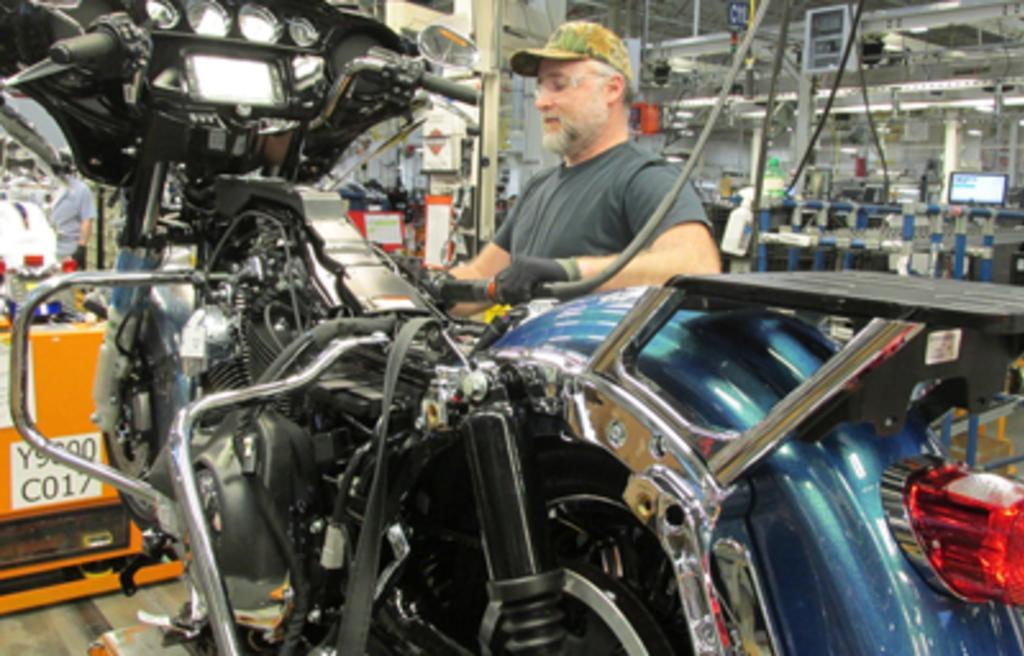 Harley-Davidson Motor Company, Vehicle Operations