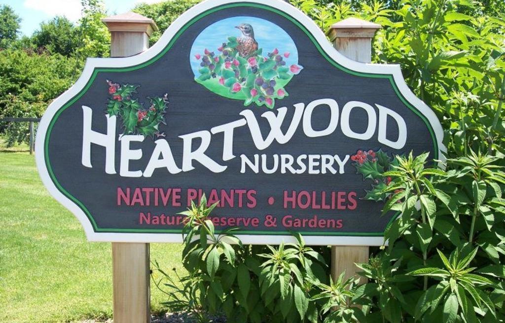 Heartwood Nursery sign