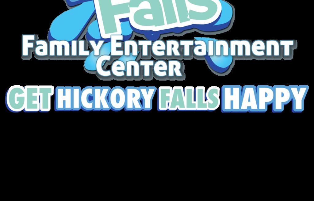 Logo Get Hickory Falls Happy