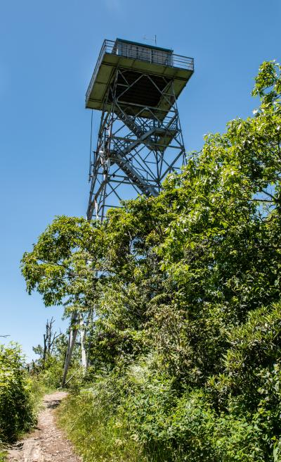 Frying Pan Mountain Lookout Tower