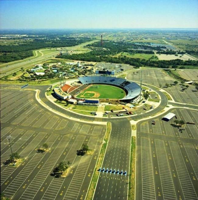 arlington stadium then
