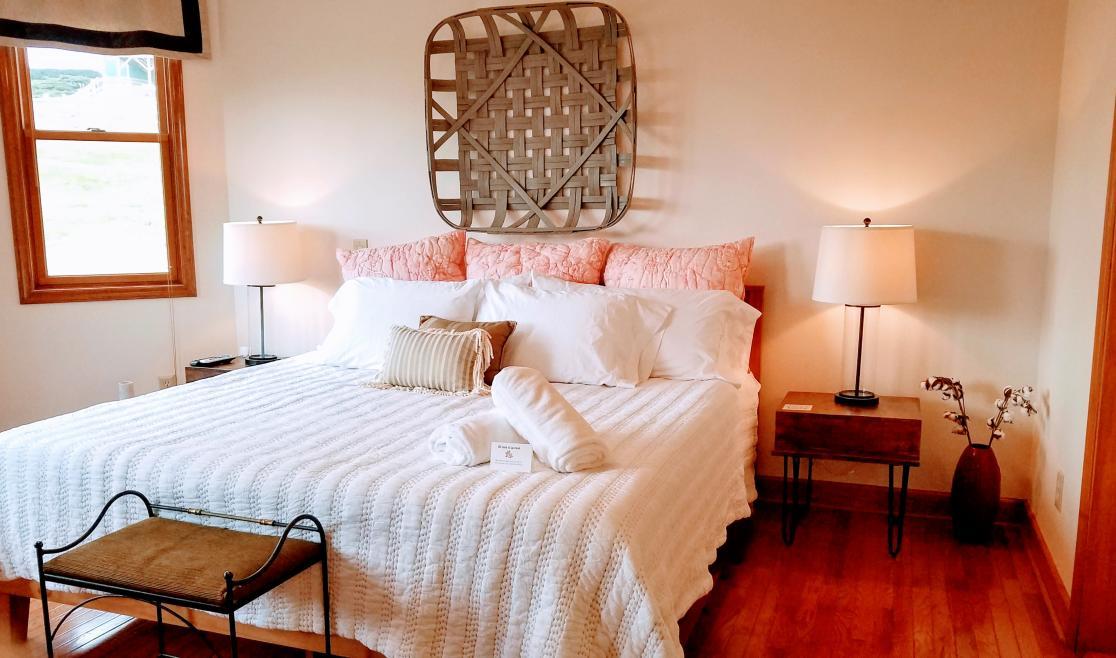 A Blue Ridge Haven Bedroom